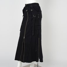 Ozz Conte SV2. Used Wash Long Skirt