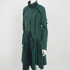 Rozen Kavalier Irregular Hem Spring Coat