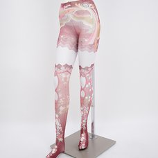 Yabane Pattern Tights