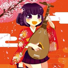 "Sakura Exhibition: megumi ""The Sound of Spring"" Poster"