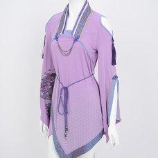 Ozz Oneste Shippo Pattern Kimono Sleeve Cutsew