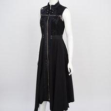 Ozz Croce Cross Zipper Dress