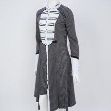 Ozz Oneste Striped Long Blouse