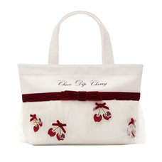 LIZ LISA Chocolate-Dipped Cherries Tote Bag