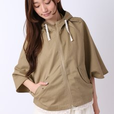earth music&ecology Laced Poncho Blouson