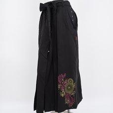 Ozz Oneste Hakama-Style Skirt