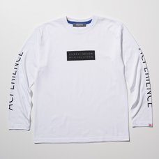 Eureka Seven x Ungreeper Acperience Long Sleeve White T-Shirt