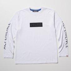 Eureka Seven x Ungreeper Acperience Long Sleeve White T-Shirt