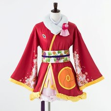 Love Live! The School Idol Movie Honoka Kosaka Angelic Angel Cosplay Outfit