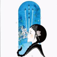 "Sakura Exhibition: meshi ""Celebration Flight"" Poster"