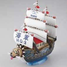 One Piece Grand Ship Collection 08: Garp's Marine Ship