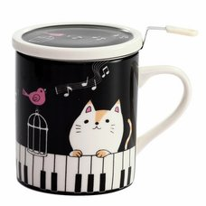 Nyanta Covered Tea Strainer Mug