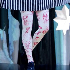 Neb aaran do 100 Friends Tights (Red)