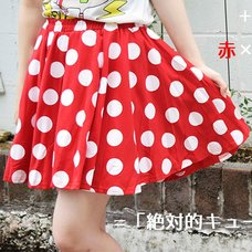ACDC RAG Polka Dot Flared Skirt