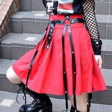 ACDC RAG 4R Pleated Skirt