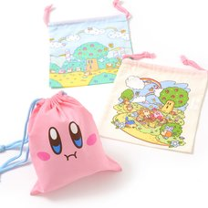 Kirby Super Star Drawstring Bag