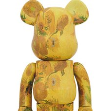 BE@RBRICK Van Gogh Museum Sunflowers 1000%