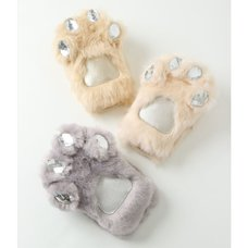Honey Salon Cat Paw Fur iPhone Case