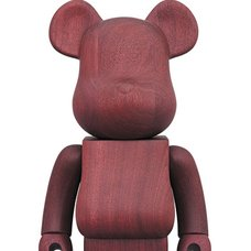BE@RBRICK Karimoku Purple Heart 400%