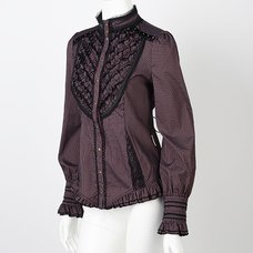 Rozen Kavalier Striped Blouse
