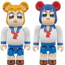 BE@RBRICK Pop Team Epic 100% 2-Pack