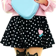 milklim Volume Dot-chan Skirt