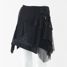 Ozz Conte Random Pleated Skirt