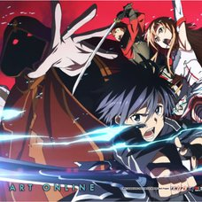 Sword Art Online Group 3 Wall Scroll