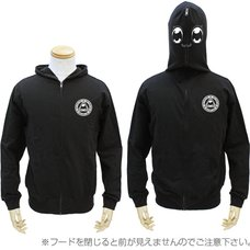 Pop Team Epic Full Zip Black Hoodie