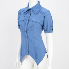 Ozz Oneste Puffy Sleeve Blouse