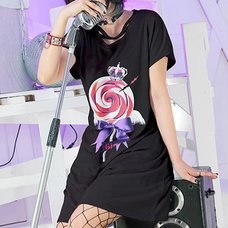 LISTEN FLAVOR x Gimme Geek!! Collaboration Vol. 1 Angel Candy Cross Neck Dress