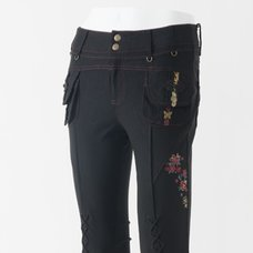 Ozz Oneste Lace-up Pants