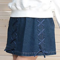 LIZ LISA Denim String Skirt