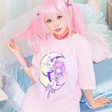 LISTEN FLAVOR 2017 Menhera-chan Collaboration Vol. 2: Moonlight T-Shirt