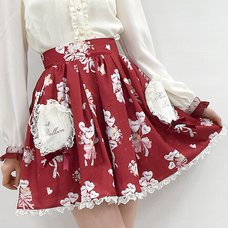 LIZ LISA Heart Balloon Skirt