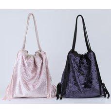 Honey Salon Velvet Tote Bag