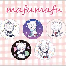 Mafumafu Nekomimi Pin Badge Set