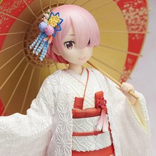 Re:Zero -Starting Life in Another World- Ram: White Kimono Ver. 1/7scale Figure