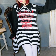 LISTEN FLAVOR Ouija Board Bat Sailor Dress
