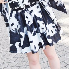 ACDC RAG Panda Flared Skirt
