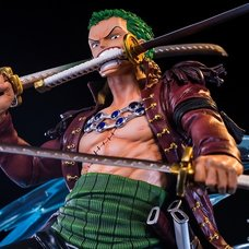 One Piece Log Collection Big Statue Series Roronoa Zoro