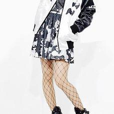 ACDC RAG Space Panda Flared Skirt