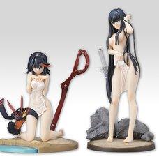 Kill la Kill Ryuko Matoi & Satsuki Kiryuin: Hot Spring Water Drop Ver. 1/7 Scale Figure Sisters Set