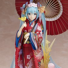 Character Vocal Series 01: Hatsune Miku ~Hanairogoromo~ 1/8 Scale Figure