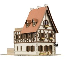 Is the Order a Rabbit?? Anitecture Rabbit House 1/150 Scale Papercraft Kit