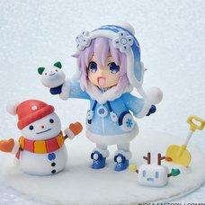 Deka Chiccha! Hyperdimension Neptunia Snow Nep: Fuwafuwa Ver. w/ AmiAmi Exclusive Bonus