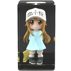 Cells at Work! Platelet: Full Color 3D Crystal Figure