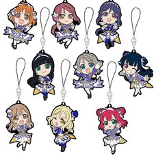 Love Live! Sunshine!! The School Idol Movie: Over the Rainbow Trading Rubber Strap Collection