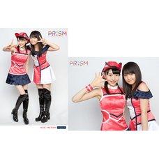 Morning Musume。'15 Fall Concert Tour ~Prism~ 2L-Size Two Shot Photo Set (Riho Sayashi x Haruna Ogata)