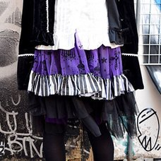 ACDC RAG Chandelier & Piano Tulle Skirt